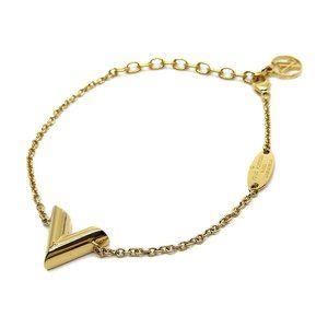 Authentic Louis Vuitton Essential V Bracelet